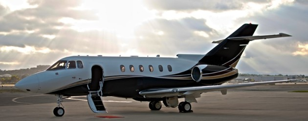 Hawker 800XP available for charter