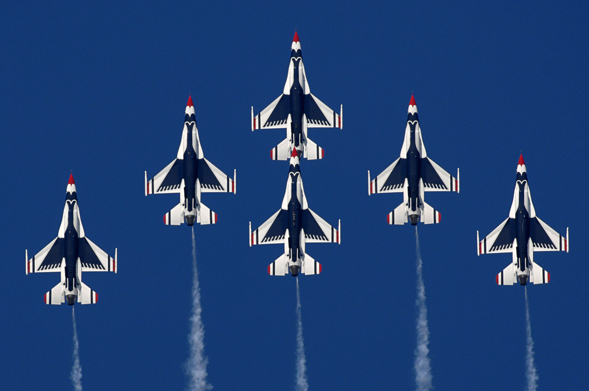 Air Force Thunderbirds cancelled due to sequestration
