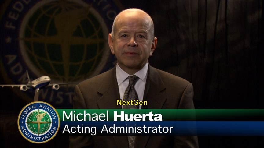 Michael Huerta FAA