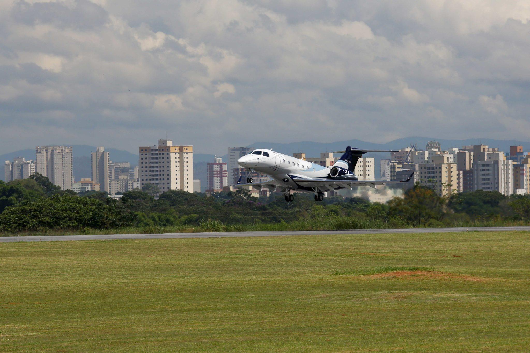 Third Embraer Legacy 500 Prototype Joins Flight-test Fleet