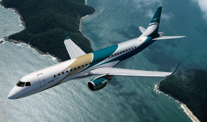Embraer Executive Jets Signs Deal For Lineage 1000 In China