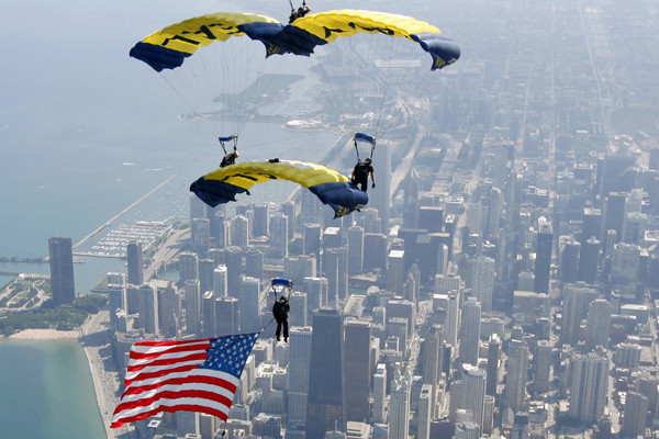 US Navy Parachute Team Grounded By Sequestration