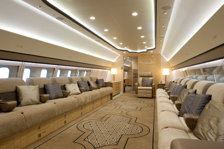 BBJ 3 Interior