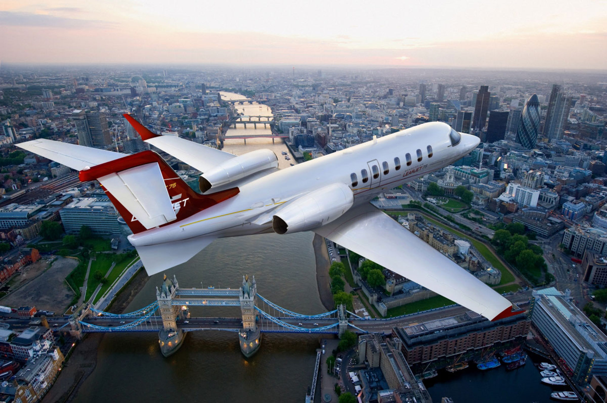 Learjet 75 to debut at EBACE 2013