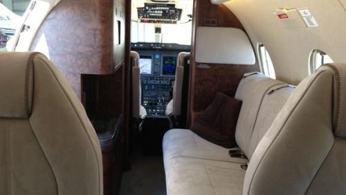 Nextant 400XTi interior