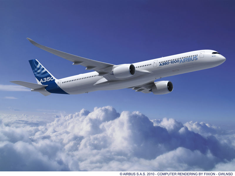 Airbus A350 orders at Paris Air Show