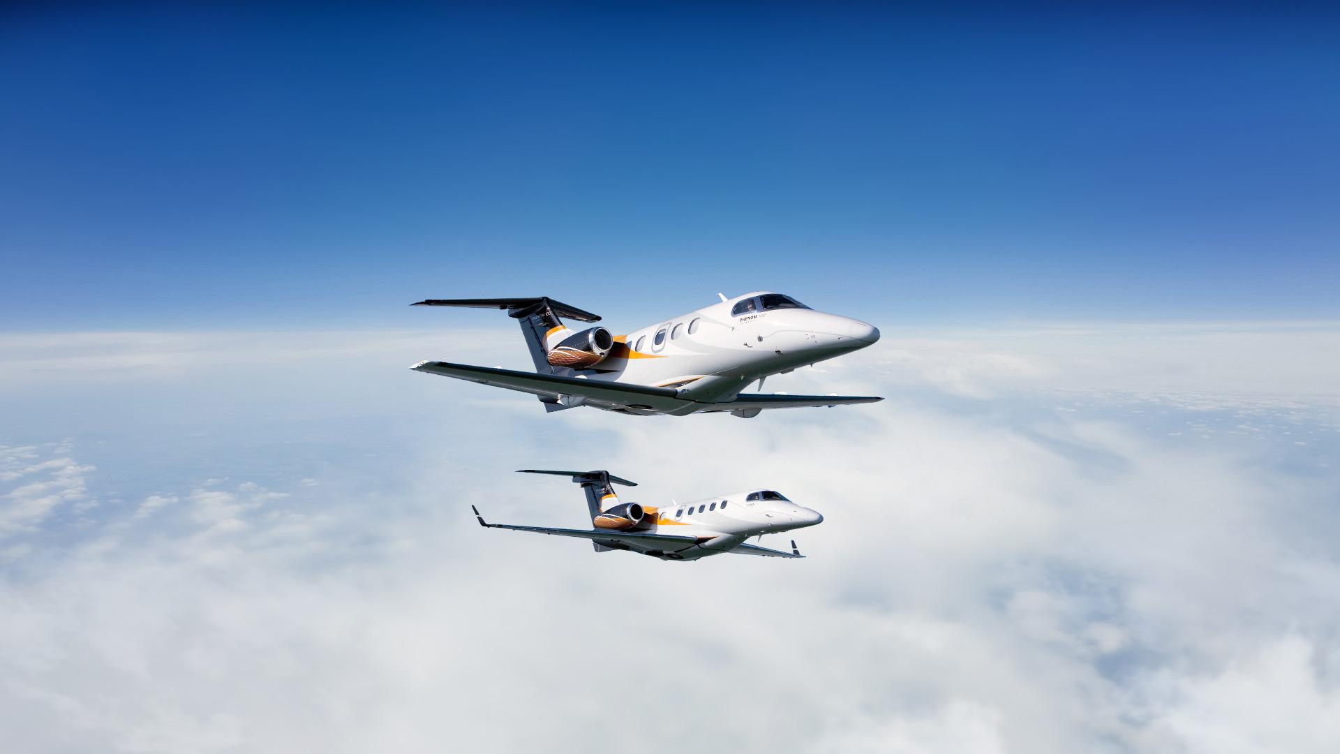 Embraer Executive Jets highlights Phenom 100 and Phenom ...