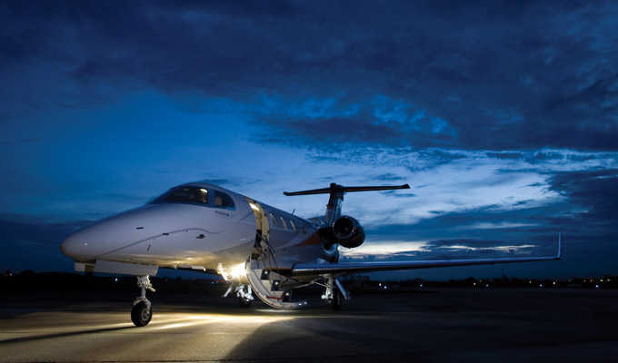 Charter a Phenom 300 from JetOptions Private Jets
