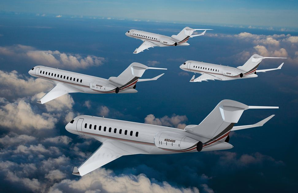 Bombardier Business Aircraft Logs Solid Quarter Delivering 45 Jets