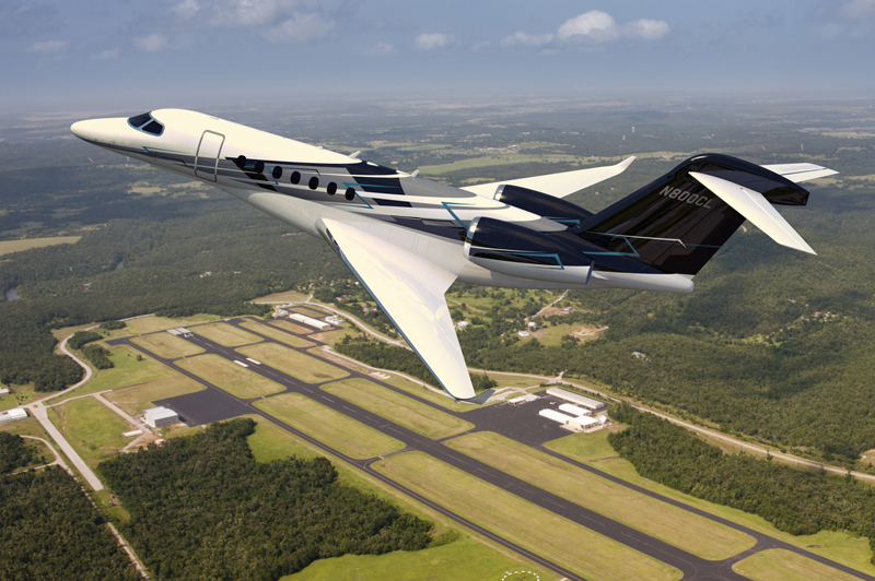 Cessna Completes First Citation Latitude Fuselage