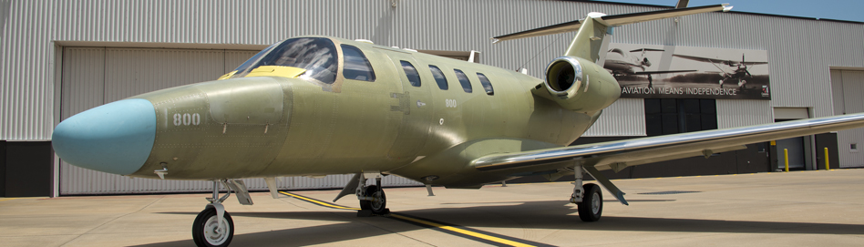 First Production Cessna Citation M2 Leaves Production Line