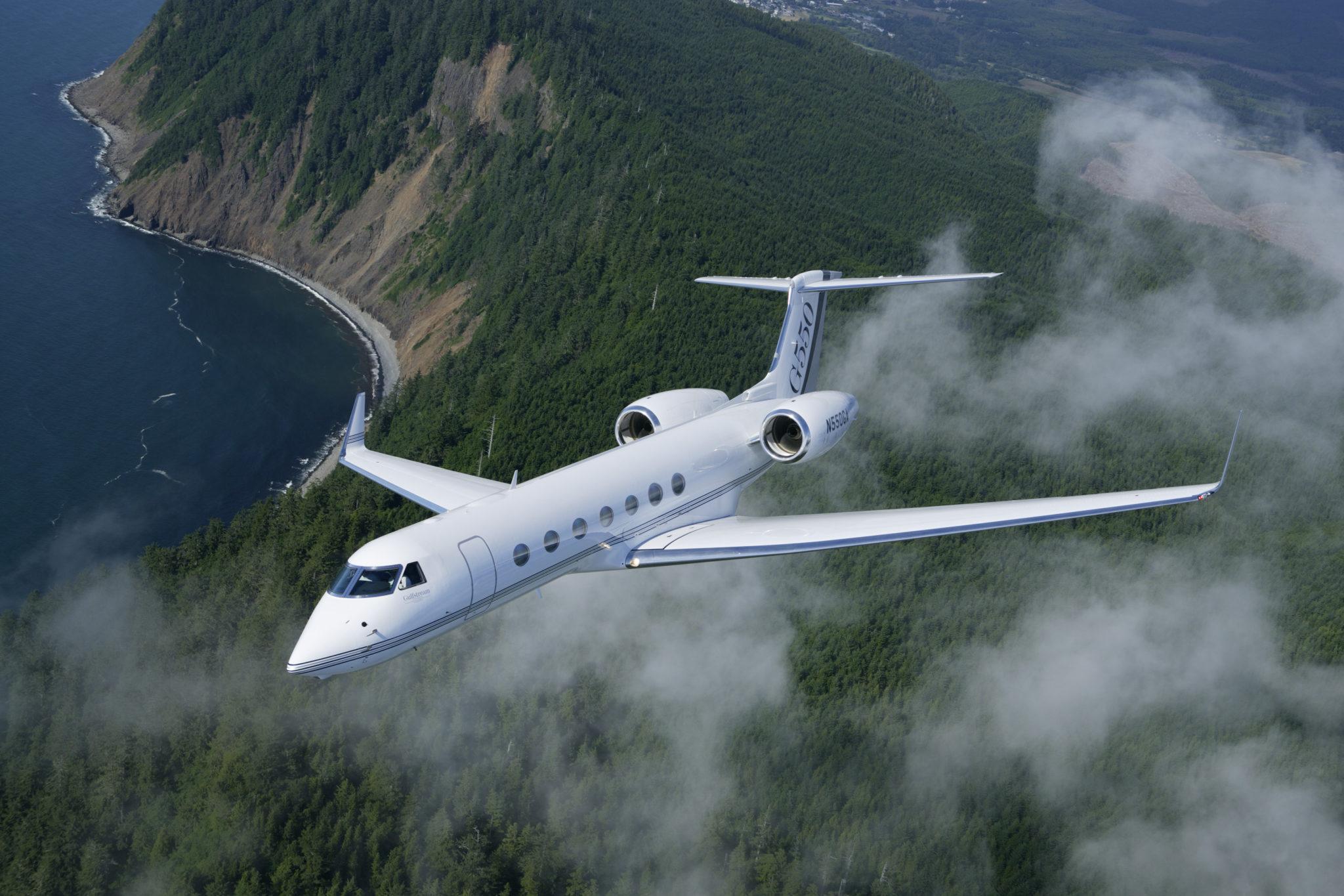 Gulfstream Celebrates G550 Anniversary