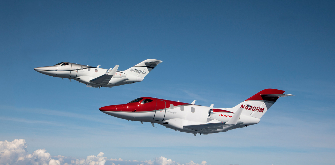Two HondaJets Made First Public Debut at Experimental Aircraft Association's (EAA) AirVenture Oshkosh 2013