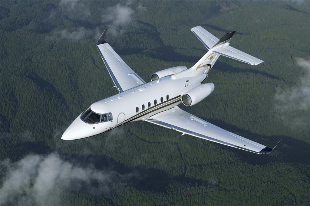 Hawker 800 average rates increased substantially in North America