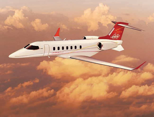 Bombardier Holds a Private Production Rolls Out of Learjet 85