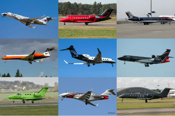 Top ten most stylish business jets