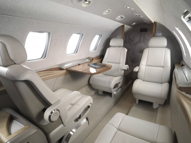 Citation M2 cabin
