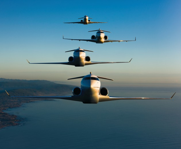 Bombardier Global business jets