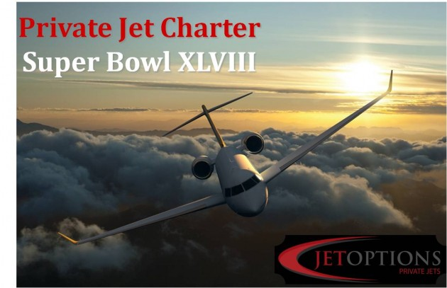 JetOptions super bowl private jet charter