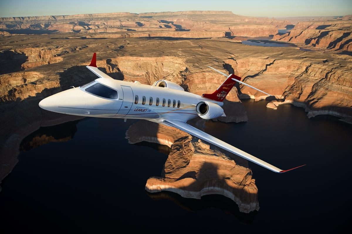 Charter a Learjet from JetOptions