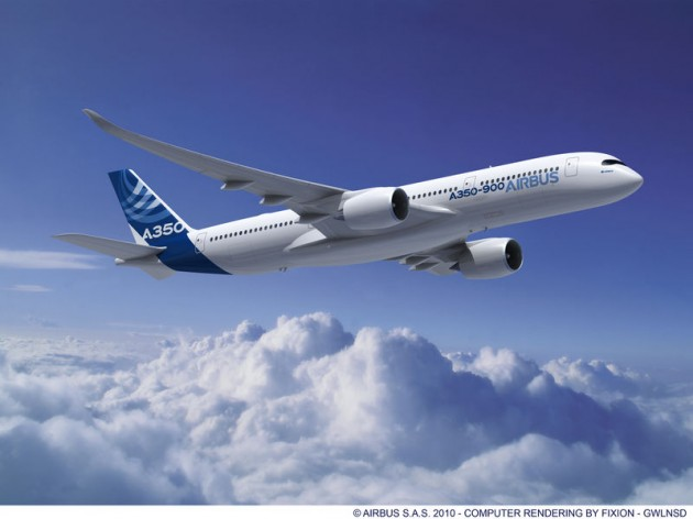 Airbus A350 debut