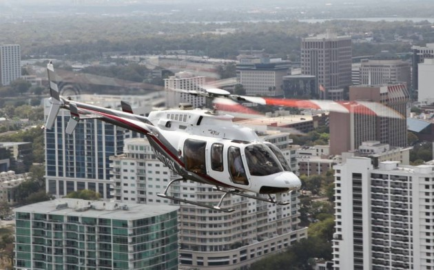 Bell Helicopter Delivers First 407GX To India