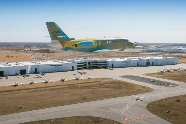 Cessna Citation Latitude prototype reaches maximum performance envelope