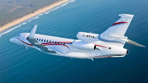 Dassault Reports Rise for New Falcon Business Jet Sales