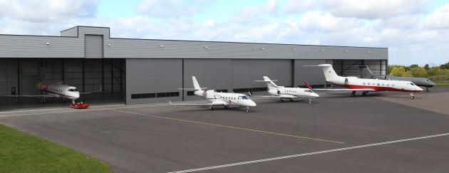 New Aircraft Hanger at Biggin Hill Airport, September 2011
