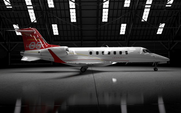 Learjet 85 First Flight Delayed by Weather
