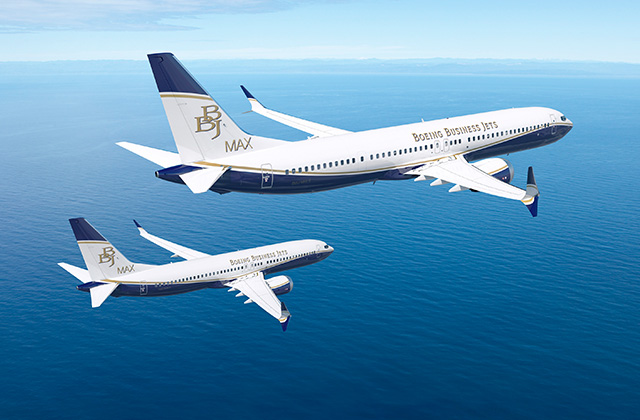 Boeing Launches BBJ MAX Family with First Order
