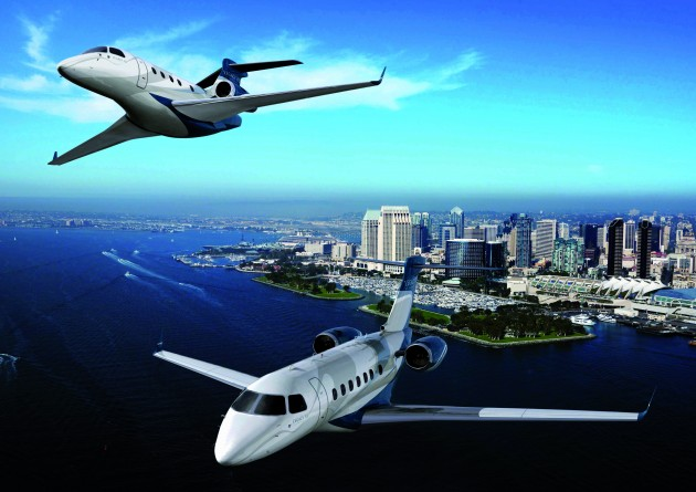 Embraer business jets