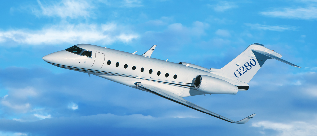 Gulfstream G280 Arrived At ABACE With New City-Pair Records