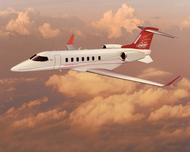 Learjet 85 aircraft successfully completed its first flight