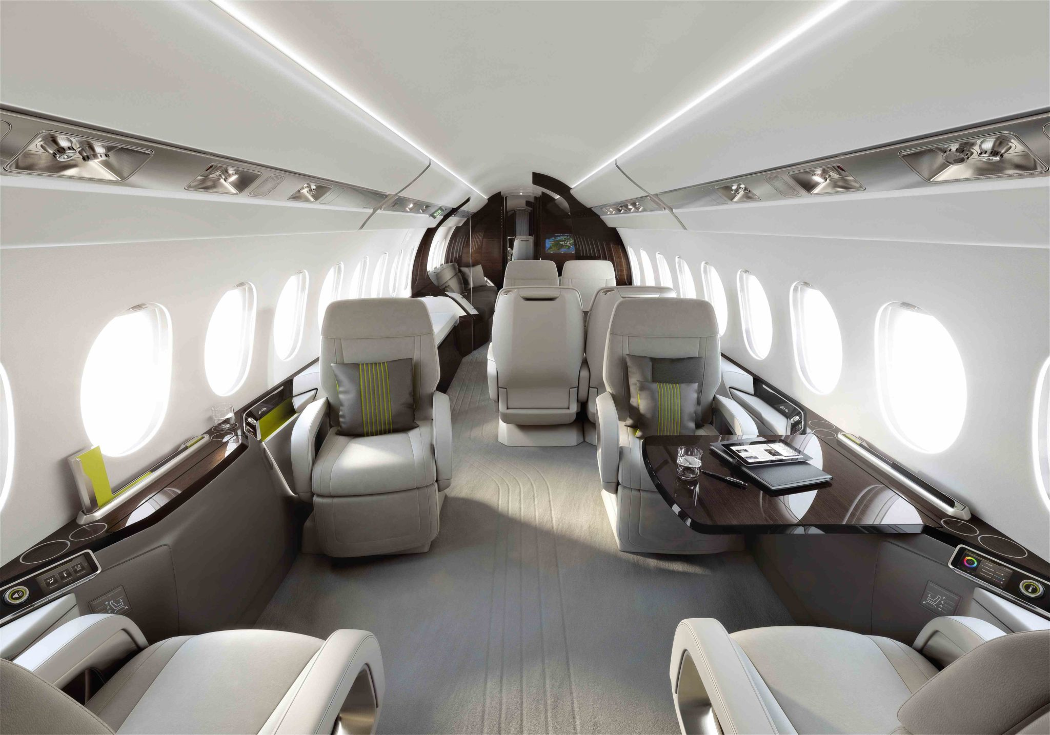 Dassault falcon 5x coming together quickly jetoptions Together interiors