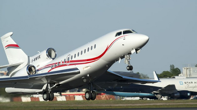 Dassault Falcon 7X Sets New Transatlantic Speed Record