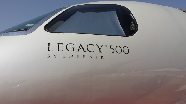 Embraer Executive Jets Customer Support Prepares for Legacy 500