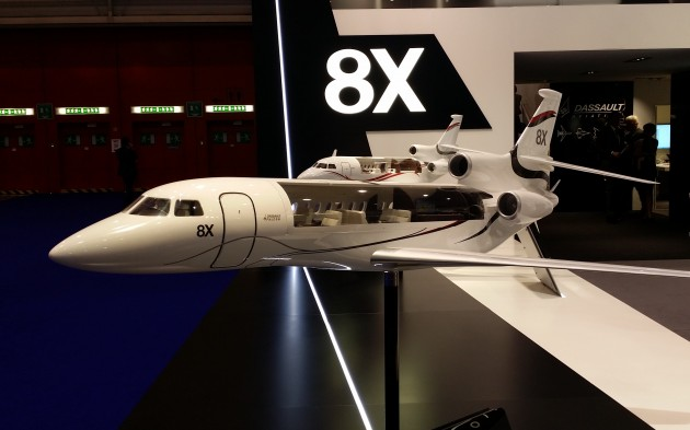 Dassault Falcon 8x Raises The Bar For Range And Cabin