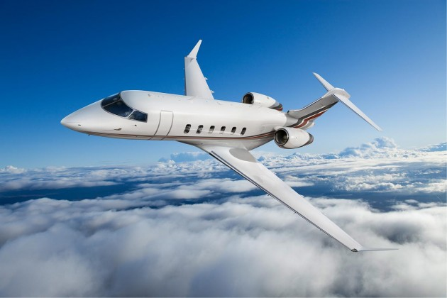 First Challenger 350 enters into service
