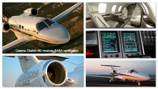 Cessna Citation M2 Receives EASA Certification
