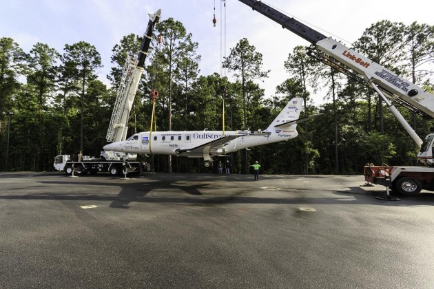Gulfstream Donates Business Aircraft to Savannah Technical College