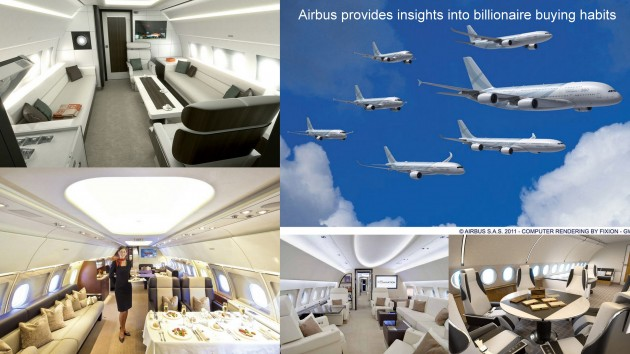 A new study by Airbus provides billionaire travel insights