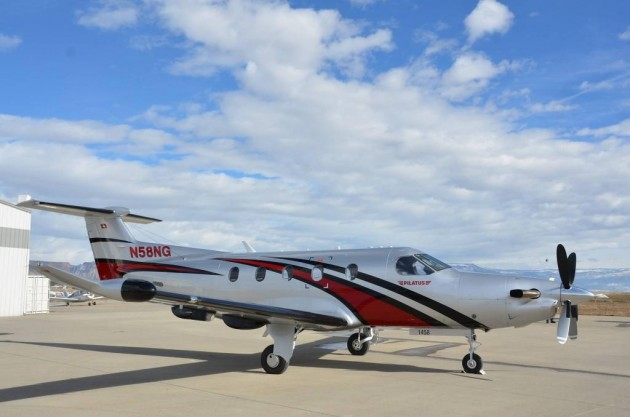 Amelia Rose Earhart Completes Round-the-world Flight in Pilatus PC 12 NG