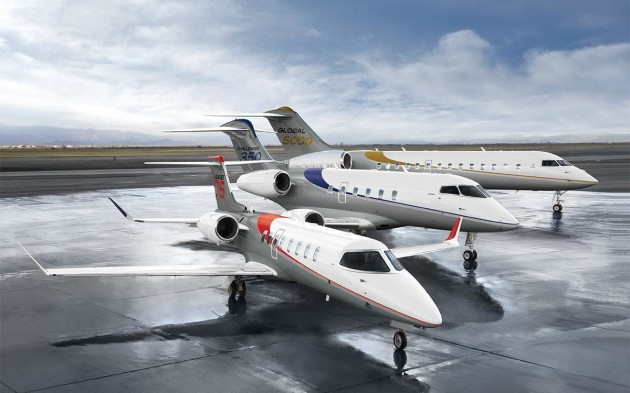 Bombardier 20 year forecast projects strong business jet for Large cabin business jets