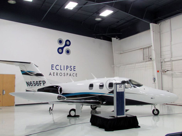 Eclipse Takes Flight, Again With the Eclipse 550