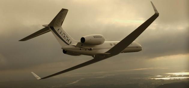 Gulfstream G550 first took flight 12 years ago this month