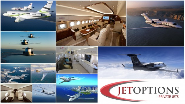 One way and empty legs from JetOptions