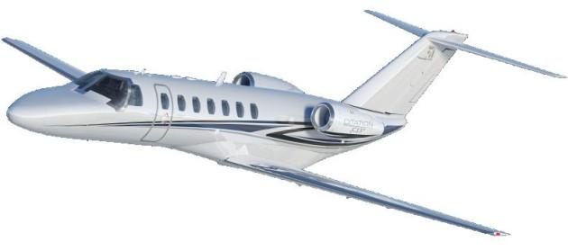 New Cessna Citation CJ3+ makes first flight
