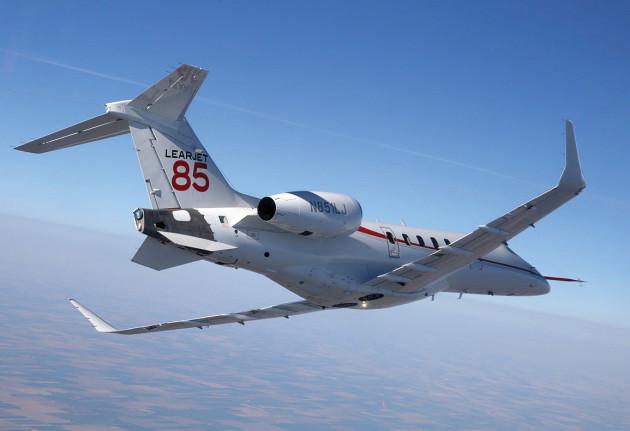 Learjet 85 delays