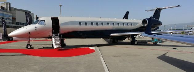 Embraer business jet deliveries up